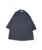 ANATOMICA(アナトミカ)の古着「ステンカラーコート」|ネイビー