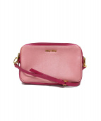 MIU MIU(ミュウミュウ)の古着「ミニショルダーバッグ」|ピンク