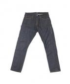 DENIM BY VANQUISH&FRAGMENT(デニムバイ バンキッシュアンドフラグメント)の古着「Rigid Tapered Denim Pants」 インディゴ