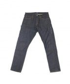 DENIM BY VANQUISH&FRAGMENT(デニム・ バイ・ヴァンキッシュ・アンド・フラグメント)の古着「Rigid Tapered Denim Pants」|インディゴ