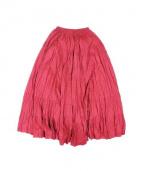 MARIHA(マリハ)の古着「草原の虹のスカート」|バイオレット