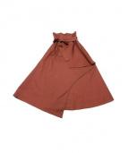 ELIN(エリン)の古着「ソリッドラップスカート」