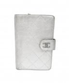 CHANEL(シャネル)の古着「2つ折り財布」|シルバー