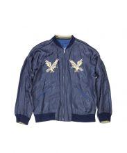 GOLD(ゴールド)の古着「スーベニアジャケット」|ブルー