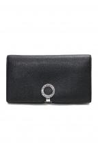 BVLGARI(ブルガリ)の古着「2つ折り長財布」|ブラック