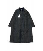 Graphpaper(グラフペーパー)の古着「Stevensons Oild Cloth Over Coa」|グリーン