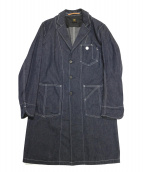 SCYE BASICS(サイベーシックス)の古着「Selvedge gray denim work coat」|インディゴ