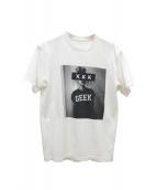 GOD SELECTION XXX(ゴッド・セレクション・トリプルエックス)の古着「プリントTシャツ」 ホワイト