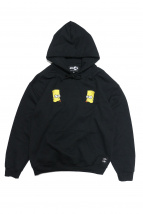 THE SIMPSONS x ATMOS LAB(ザシンプソンズ×アトモスラボ)の古着「BART EMBROIDERY HOODIE」