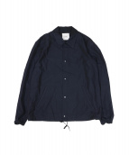 CLANE HOMME(クラネ オム)の古着「コーチジャケット」|ネイビー