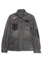ISAMU KATAYAMA BACKLASH(イサムカタヤマ・バックラッシュ)の古着「デニムジャケット」|インディゴ