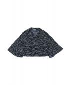 CLANE(クラネ)の古着「サルビアフラワープリントシャツ」