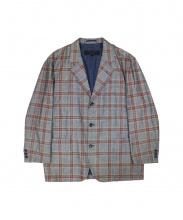 COMME des GARCONS HOMME(コムデギャルソンオム)の古着「90's ルーズフィットチェックジャケット」