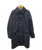 pas de calais(パドカレ)の古着「ライナー付ステンカラーコート」|ブラック
