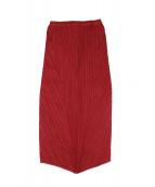 PLEATS PLEASE ISSEY MIYAKE(プリーツ プリーズ イッセイ ミヤケ)の古着「デザインプリーツスカート」