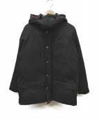 SIERRA DESIGNS(シェラデザインズ)の古着「60/40クロスダウンジャケット」|ブラック×レッド