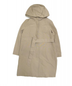 BALLSEY(ボールジー)の古着「ダウンベスト付フーデッドコート」|ベージュ