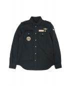 DIESEL BLACK GOLD(ディーゼル ブラック ゴールド)の古着「ミリタリーシャツ」