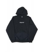 FLAGSTUFF(フラッグスタッフ)の古着「BOX LOGO HOODIE」|ブラック