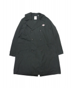 DANTON(ダントン)の古着「オーバーサイズコート」|ブラック