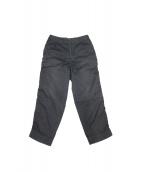 kolor/BEACON(カラービーコン)の古着「ガーメントダイパッカリングパンツ」|グレー