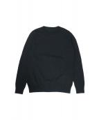 uniform experiment(ユニフォーム エクスペリメント)の古着「UEN PHYSICAL FITNESS CREW NECK」|ブラック