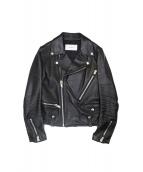 ASTRAET(アストラット)の古着「Riders Jacket」|ブラック