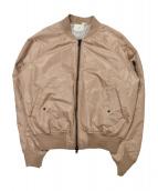 FOG ESSENTIALS(フィアオブゴット エッセンシャル)の古着「ボンバージャケット」 ピンク