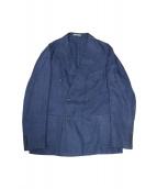 BOGLIOLI(ボリオリ)の古着「ダブルジャケット」|ネイビー