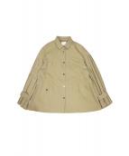 CIROI(シロイ)の古着「プリーツミリタリージャケット」