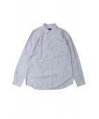 UNDERCOVER(アンダーカバー)の古着「PFパッチストライプシャツ」|ブルー