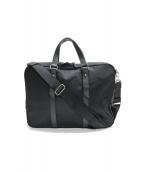 agnes b voyage(アニエスベーボヤージュ)の古着「2WAYビジネスバッグ」|ブラック