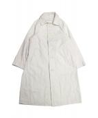 45R(45アール)の古着「うすいおこめダックの908コート」|ホワイト
