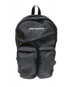 uniform experiment(ユニフォーム エクスペリメント)の古着「Back Pack」|ブラック