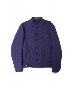 Paul Smith(ポールスミス)の古着「リネン混ジャケット」|パープル