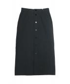 GALERIE VIE(ギャルリーヴィー)の古着「コットンシルクシアサッカーIラインスカート」