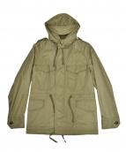 COMME des GARCONS HOMME PLUS(コムデギャルソンオムプリュス)の古着「フーデッドジャケット」|カーキ