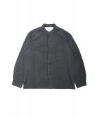 YAECA(ヤエカ)の古着「リネン混スタンドカラージャケット」|スミクロ