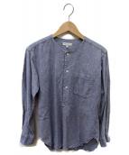 Engineered Garments(エンジニアードガーメン)の古着「プルオーバーシャツ」 サックスブルー