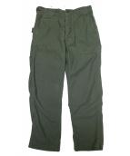 Engineered Garments(エンジニアードガーメンツ)の古着「別注グラスフィールドパンツ」|カーキ