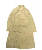 MIUMIU(ミュウミュウ)の古着「オーバーサイズドナイロンコート」 ベージュ