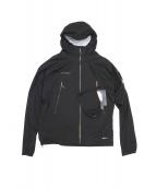 MAMMUT(マムート)の古着「Masao Light HS Hooded Jacket」|ブラック