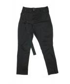 LAD MUSICIAN(ラッドミュージシャン)の古着「STRETCH DENIM BONDAGE PANTS」|ブラック
