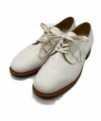 SANDERS(サンダース)の古着「キャンバスオックスフォードシューズ」|ホワイト
