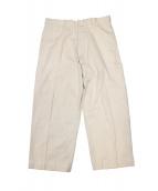 YAECA(ヤエカ)の古着「CHINO CLOTH PANTS」|ホワイト