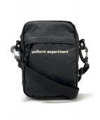 uniform experiment(ユニフォームエクスペリメント)の古着「ショルダーバッグ」 ブラック