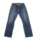 RRL(ダブルアールエル)の古着「5ポケットセルビッチデニムパンツ」|インディゴ