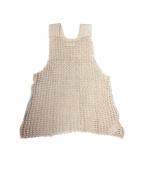 SIMON MILLER(サイモンミラー)の古着「ノースリーブシルクニット」|ブラウン
