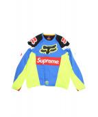 SUPREME(シュプリーム)の古着「Moto Jersey Top」|ブルー