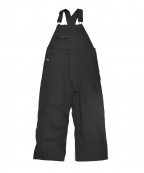 orSlow(オアスロウ)の古着「ブラックデニムオーバーオール」|ブラック